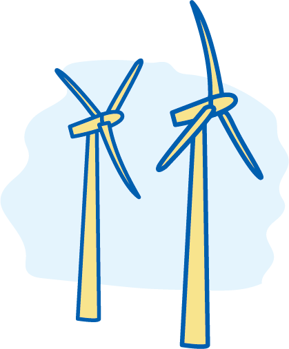 Wind turbine propellers