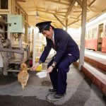 小湊鐵道は、どこも 懐かしく温かい雰囲 気に包まれています (養老渓谷駅)
