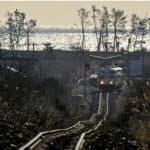 無料の復興支援列車(2012.1.15/陸中野田駅)
